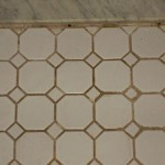 Bathroom Tile - Before