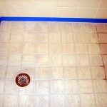 Shower Tile - Before and After